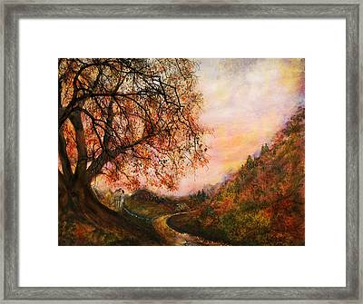 Once Upon October Framed Print by Patricia Motley