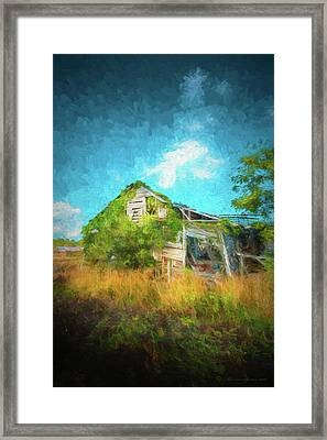 Once Was Home Framed Print by Marvin Spates