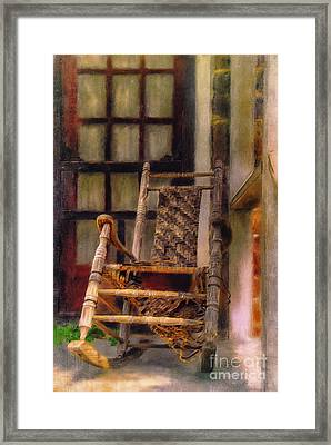 Once Well Loved Framed Print by Lois Bryan