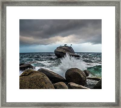 Oncoming Storm Framed Print