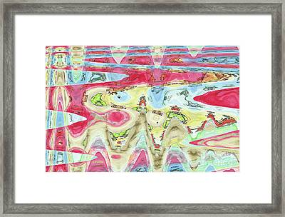 Ondes De Choc / Shock Waves Framed Print by Dominique Fortier