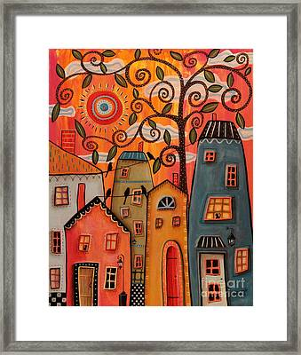 One Afternoon Framed Print by Karla Gerard