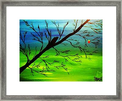 One Alive Framed Print by Paula Ferguson