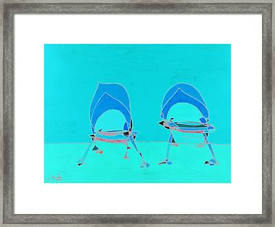 One And Two Framed Print