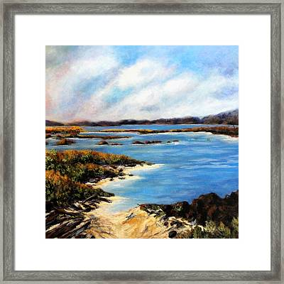 One Beach Washington Framed Print by Marti Green