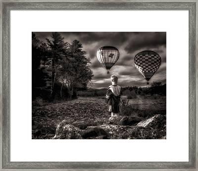 One Boys Dream Framed Print by Bob Orsillo