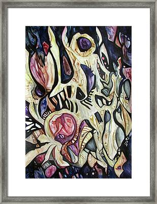 One Breath Of The Universe Framed Print