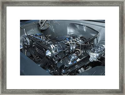 One Clean Machine Framed Print by Richard Henne