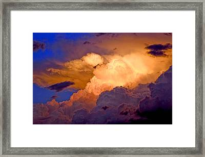 One Cloudy Afternoon Framed Print by James Steele