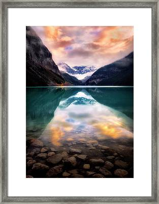 One Colorful Moment  Framed Print
