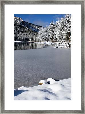 One Cool Morning Framed Print by Chris Brannen