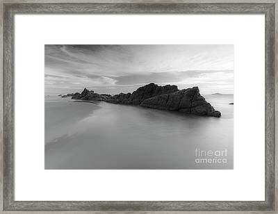 One Day At The Beach Framed Print