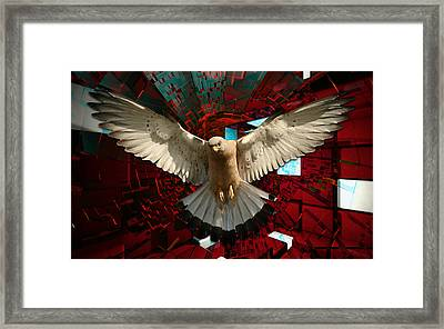 One Day I'll Fly Away Framed Print