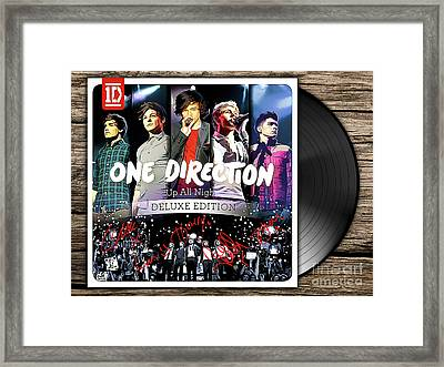 One Direction Up All Night Framed Print