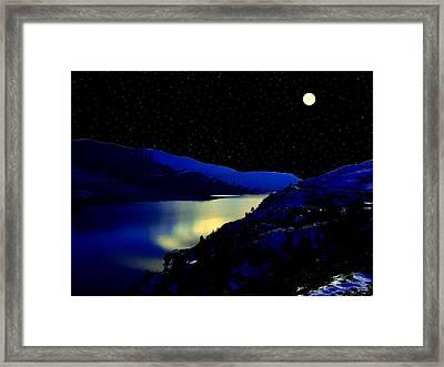 One Enchanted Evening Framed Print