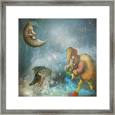 One Enchanting Evening Framed Print by Diana Boyd