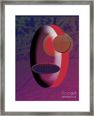 One Eye Closed Framed Print by EGiclee Digital Prints