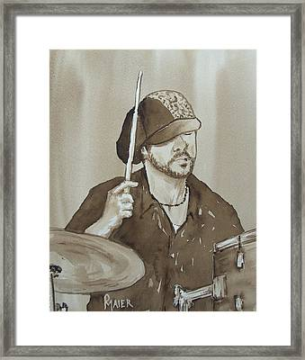 One Eyed Pete Framed Print by Pete Maier