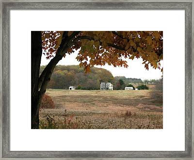 Framed Print featuring the photograph One Fall Day by Gordon Beck