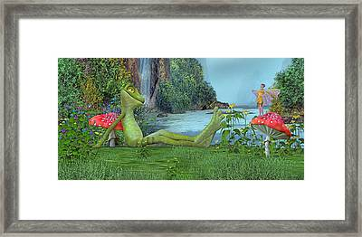One Fine Day Framed Print by Betsy Knapp