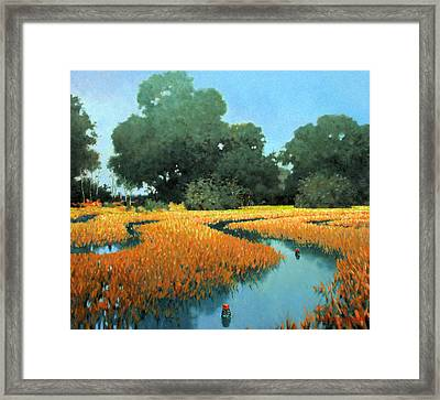 One Fine Dish Framed Print by Kevin Lawrence Leveque