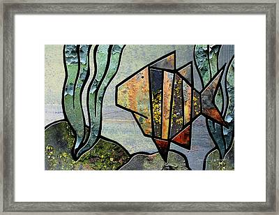 One Fish Framed Print