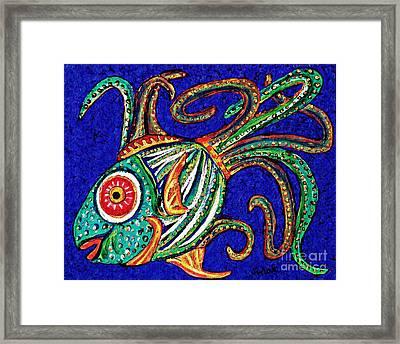 One Fish Framed Print by Sarah Loft