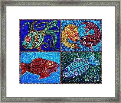 One Fish Two Fish Framed Print