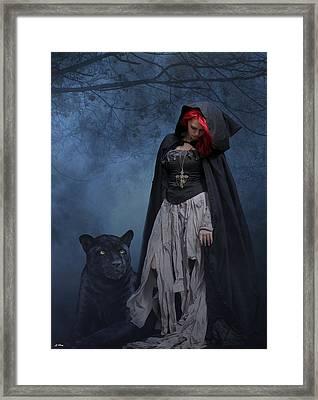 One Foggy Night Framed Print by G Berry