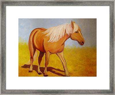 One Foot In Front Of The Other Framed Print by Marie Hamby