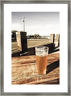 One For The Great Ocean Road Framed Print