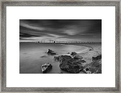 One For The Road Framed Print