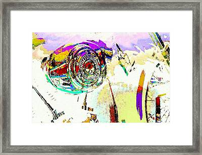 One For The Road Framed Print by Jeff Gibford