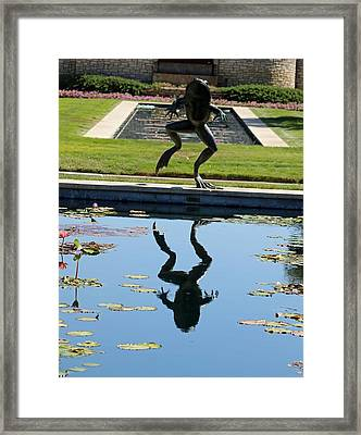 One Giant Leap Framed Print by Pamela Critchlow