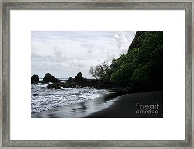 One Heart Framed Print