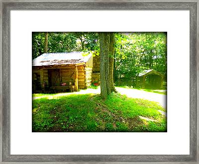 One Horse Town Framed Print by Lesli Sherwin