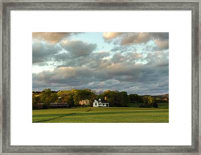 One Hundred Yards To Home Framed Print