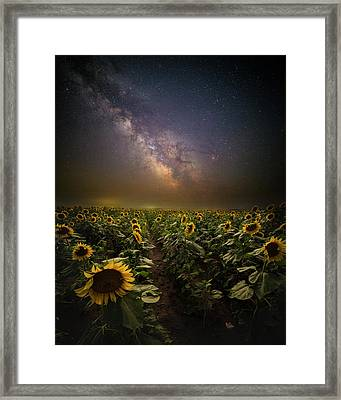 Framed Print featuring the photograph One In A Million  by Aaron J Groen
