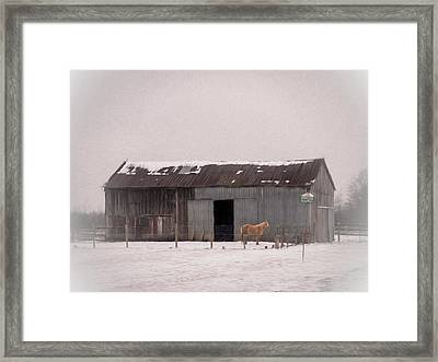 One Is The Loneliest Number Framed Print