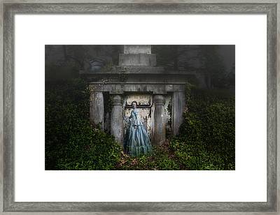 One Last Look Framed Print