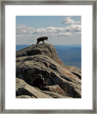 One Last Step Framed Print