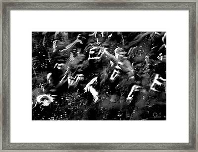 One Life Framed Print