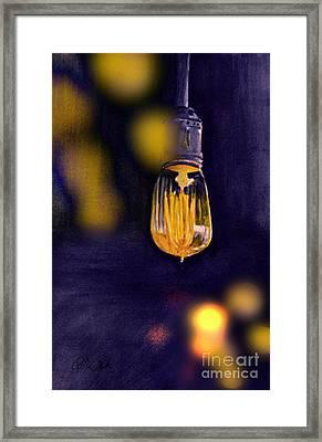 One Light Framed Print