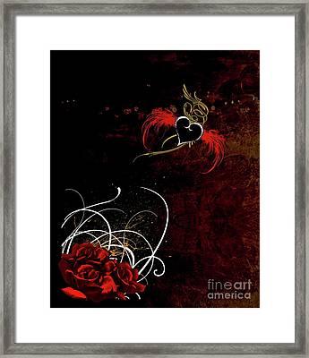 One Love, One Heart Framed Print