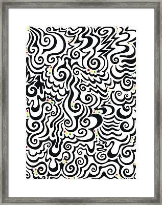 One Love Tribal Framed Print