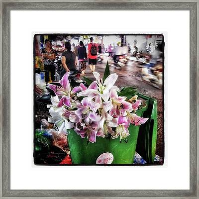 Framed Print featuring the photograph One Man's Trash Is Another Man's by Mr Photojimsf