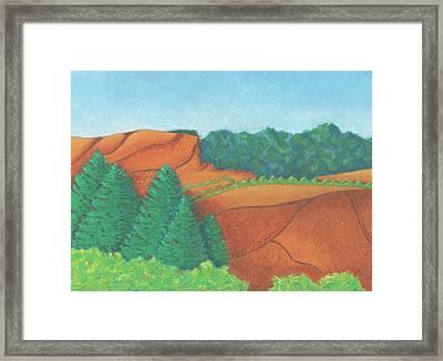 One Mesa Framed Print