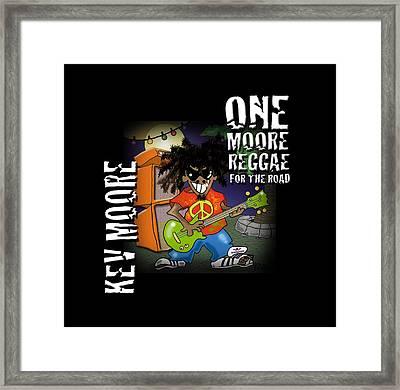 One Moore Reggae Framed Print