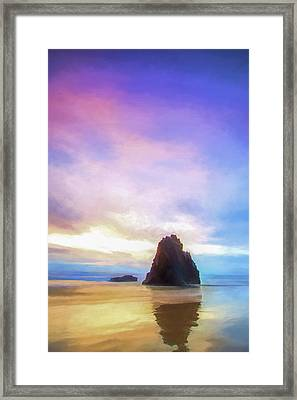 One More Look II Framed Print
