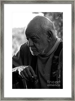 One More Stogie For The Road Framed Print